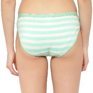 Green Striped Panty