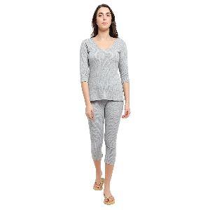 Ladies Grey Thermal Wear