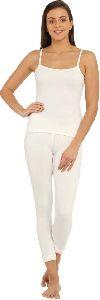 Ladies White Thermal Wear