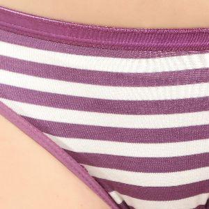 Purple Striped Panty