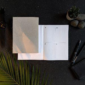 Hardcover Embossed Diary