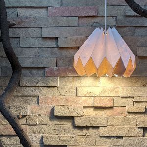 Paper Candle Lamp