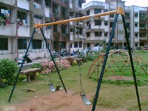 1.5  Inch Post Double Seater Swing