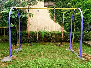 2  Inch Post Double Seater Swing
