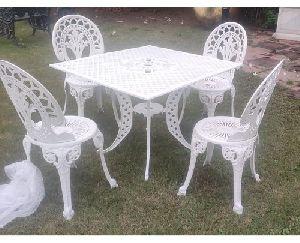 Aluminum Table Chair Set