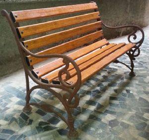Cast Iron Bench