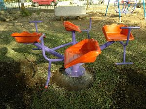 Chair Shape 4 Seater Merry Go Round