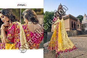 Hand Work Bridal Saree