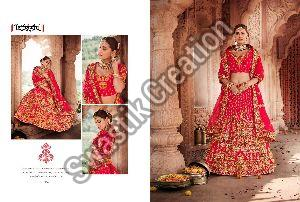 Heavy Stone Work Bridal Lehenga