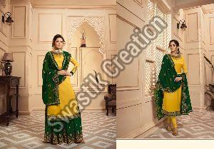 Nitya Vol 142 Semi Stitched Suit