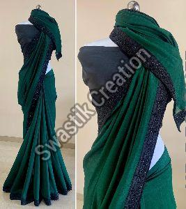 Rudra Green Bollywood Saree