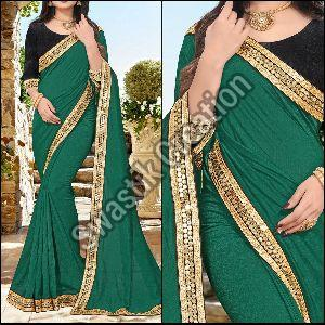 Shivani Green Bollywood Saree
