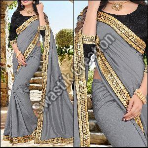 Shivani Grey Bollywood Saree