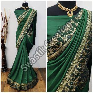 Shyam Green Bollywood Saree