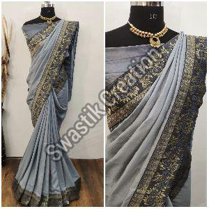 Shyam Grey Bollywood Saree