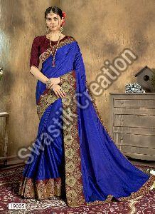 Swara Blue Bollywood Saree