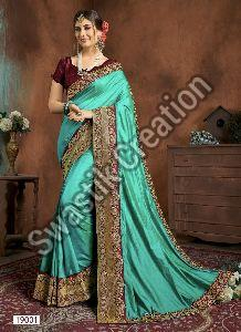 Swara Green Bollywood Saree