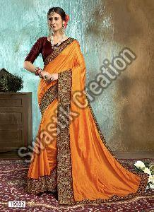 Swara Orange Bollywood Saree