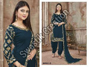 Twisha Vol 90001 Semi Stitched Suit
