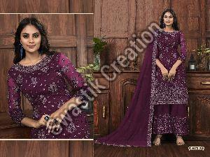 Vipul 4572 Semi Stitched Suit