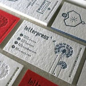 Letterpress Printing Services