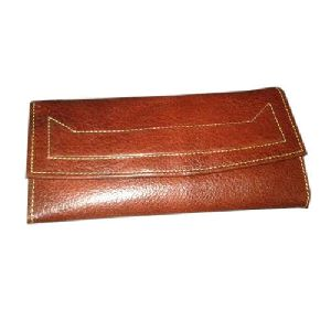 Ladies Brown Leather Purse