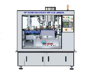 Automatic Rotary Bottle Labeling Machine