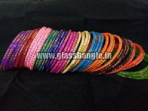 Fancy Glass Bangles