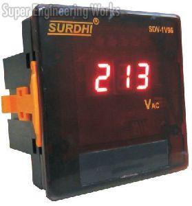 Single Phase Digital Voltmeter