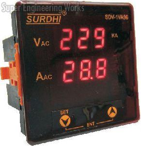 Single Phase Volt-Amp Digital Meter
