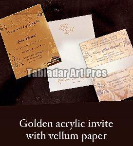 Paper Wedding Card