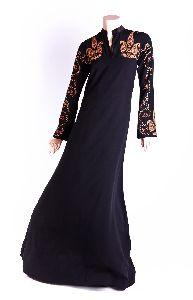 Paisley Sleeves Abaya