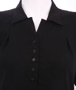 Shirt Collar Abaya
