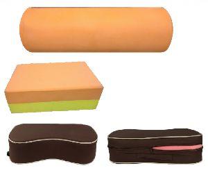 Yoga Foam Roller and Block