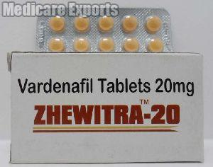 Zhewitra 20 Mg Tablets