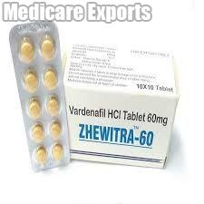 Zhewitra 60 Mg Tablets