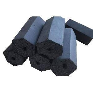 Hexagonal Charcoal Briquettes