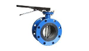 Wafer Double Flanged Butterfly Valve