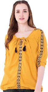 western ladies tops