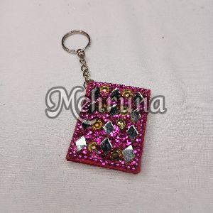 Handicrafts Lac Diary Keychain