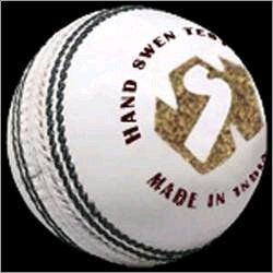 Test White Cricket Ball