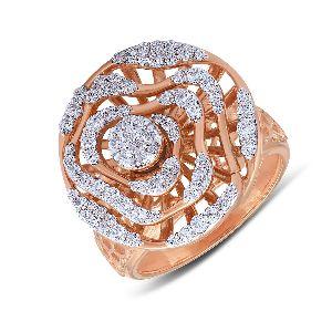 Bearing Diamond Ring