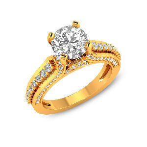 Casual Diamond Rings