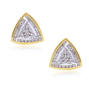 Cluster Diamond Earrings