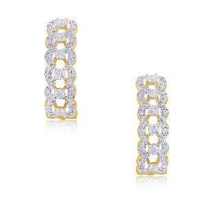 J Bali Diamond Earrings