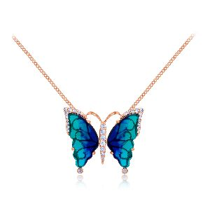 Kaeley Diamond Pendant