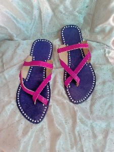 MOJEES - RUBY Hand-crafted Chappal