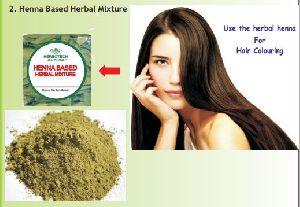 Henna Based Herbal Mixture