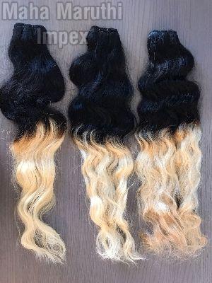 Double colour hair