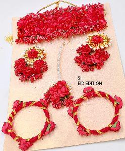 Flower Necklace Set